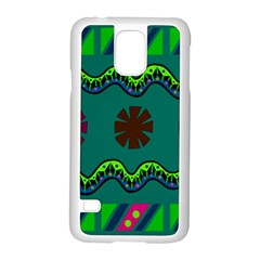 A Colorful Modern Illustration Samsung Galaxy S5 Case (White)