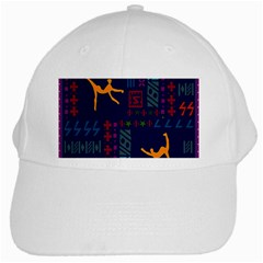 A Colorful Modern Illustration For Lovers White Cap
