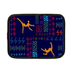 A Colorful Modern Illustration For Lovers Netbook Case (small)