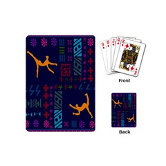 A Colorful Modern Illustration For Lovers Playing Cards (mini)