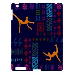 A Colorful Modern Illustration For Lovers Apple iPad 3/4 Hardshell Case