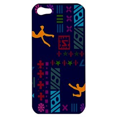 A Colorful Modern Illustration For Lovers Apple Iphone 5 Hardshell Case