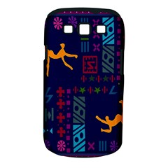 A Colorful Modern Illustration For Lovers Samsung Galaxy S III Classic Hardshell Case (PC+Silicone)