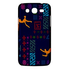 A Colorful Modern Illustration For Lovers Samsung Galaxy Mega 5.8 I9152 Hardshell Case