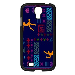 A Colorful Modern Illustration For Lovers Samsung Galaxy S4 I9500/ I9505 Case (Black)