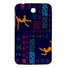 A Colorful Modern Illustration For Lovers Samsung Galaxy Tab 3 (7 ) P3200 Hardshell Case