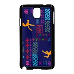 A Colorful Modern Illustration For Lovers Samsung Galaxy Note 3 Neo Hardshell Case (Black)