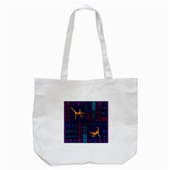 A Colorful Modern Illustration For Lovers Tote Bag (White)