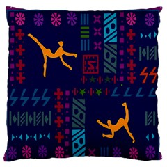 A Colorful Modern Illustration For Lovers Standard Flano Cushion Case (Two Sides)