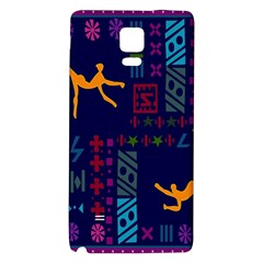 A Colorful Modern Illustration For Lovers Galaxy Note 4 Back Case