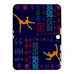 A Colorful Modern Illustration For Lovers Samsung Galaxy Tab 4 (10.1 ) Hardshell Case