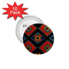 Abstract A Colorful Modern Illustration 1 75  Buttons (10 Pack)