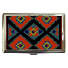 Abstract A Colorful Modern Illustration Cigarette Money Cases