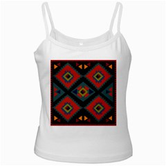 Abstract A Colorful Modern Illustration Ladies Camisoles