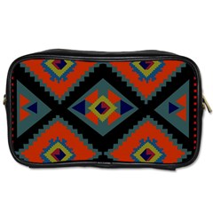 Abstract A Colorful Modern Illustration Toiletries Bags 2 Side