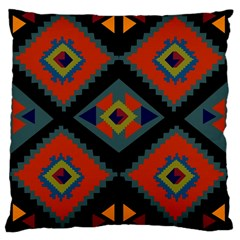 Abstract A Colorful Modern Illustration Large Cushion Case (One Side)