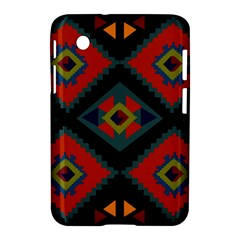 Abstract A Colorful Modern Illustration Samsung Galaxy Tab 2 (7 ) P3100 Hardshell Case