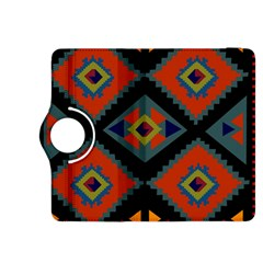 Abstract A Colorful Modern Illustration Kindle Fire HDX 8.9  Flip 360 Case