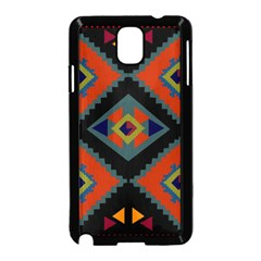 Abstract A Colorful Modern Illustration Samsung Galaxy Note 3 Neo Hardshell Case (Black)