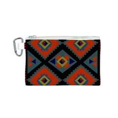 Abstract A Colorful Modern Illustration Canvas Cosmetic Bag (S)