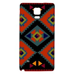 Abstract A Colorful Modern Illustration Galaxy Note 4 Back Case