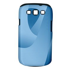 Abstract Blue Background Swirls Samsung Galaxy S III Classic Hardshell Case (PC+Silicone)