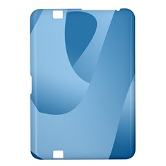 Abstract Blue Background Swirls Kindle Fire HD 8.9