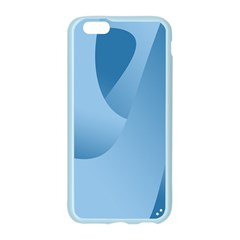 Abstract Blue Background Swirls Apple Seamless iPhone 6/6S Case (Color)
