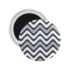 Shades Of Grey And White Wavy Lines Background Wallpaper 2 25  Magnets