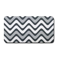 Shades Of Grey And White Wavy Lines Background Wallpaper Medium Bar Mats