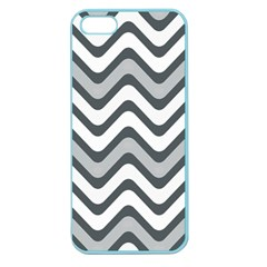 Shades Of Grey And White Wavy Lines Background Wallpaper Apple Seamless iPhone 5 Case (Color)