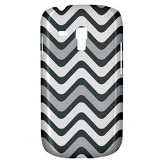 Shades Of Grey And White Wavy Lines Background Wallpaper Galaxy S3 Mini