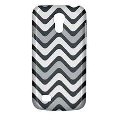 Shades Of Grey And White Wavy Lines Background Wallpaper Galaxy S4 Mini