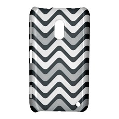 Shades Of Grey And White Wavy Lines Background Wallpaper Nokia Lumia 620