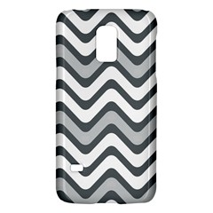 Shades Of Grey And White Wavy Lines Background Wallpaper Galaxy S5 Mini