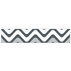 Shades Of Grey And White Wavy Lines Background Wallpaper Flano Scarf (Small)
