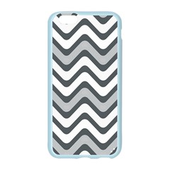 Shades Of Grey And White Wavy Lines Background Wallpaper Apple Seamless iPhone 6/6S Case (Color)