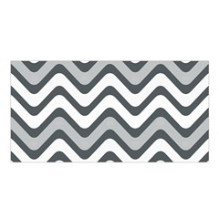 Shades Of Grey And White Wavy Lines Background Wallpaper Satin Shawl
