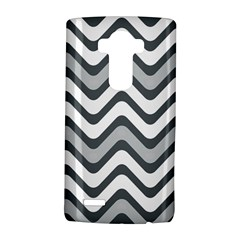 Shades Of Grey And White Wavy Lines Background Wallpaper Lg G4 Hardshell Case