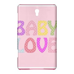 Pink Baby Love Text In Colorful Polka Dots Samsung Galaxy Tab S (8 4 ) Hardshell Case