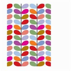 Colorful Bright Leaf Pattern Background Large Garden Flag (two Sides)