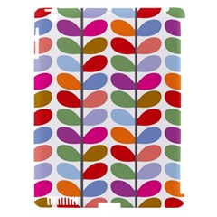 Colorful Bright Leaf Pattern Background Apple iPad 3/4 Hardshell Case (Compatible with Smart Cover)