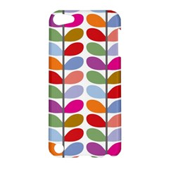 Colorful Bright Leaf Pattern Background Apple iPod Touch 5 Hardshell Case