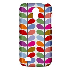 Colorful Bright Leaf Pattern Background Galaxy S4 Mini