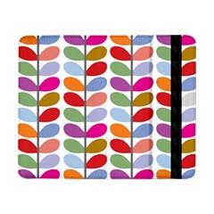 Colorful Bright Leaf Pattern Background Samsung Galaxy Tab Pro 8 4  Flip Case