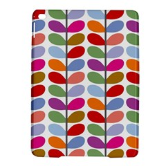 Colorful Bright Leaf Pattern Background iPad Air 2 Hardshell Cases