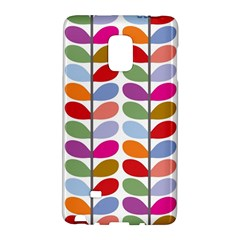Colorful Bright Leaf Pattern Background Galaxy Note Edge