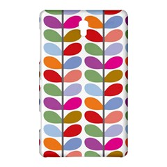 Colorful Bright Leaf Pattern Background Samsung Galaxy Tab S (8.4 ) Hardshell Case