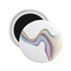 Abstract Ribbon Background 2 25  Magnets