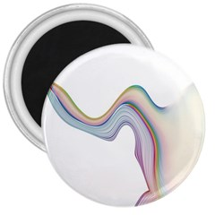 Abstract Ribbon Background 3  Magnets